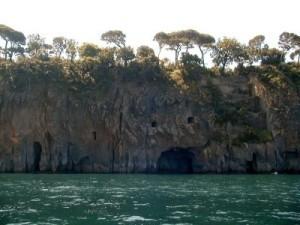sito il pizzo - vista della villa dal mare